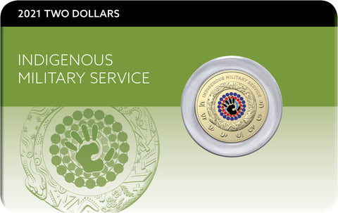 2021 Indigenous Military Service $2 Downies Card (Limit 3 Per Member)