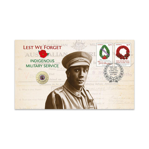 2021 Lest We Forget Indigenous Military Service PNC