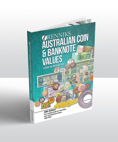 Renniks Australian Coin & Banknote Values 30th Ed. Softcover