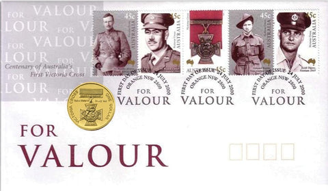 2000 For Valour Victoria Cross $1 PNC