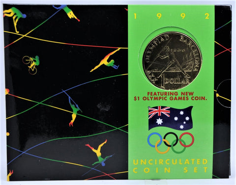 1992 Olympic Games RAM Mint Set