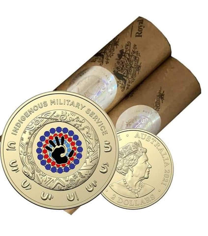 2021 Indigenous Military Service $2 RAM Roll (1 Per Customer)