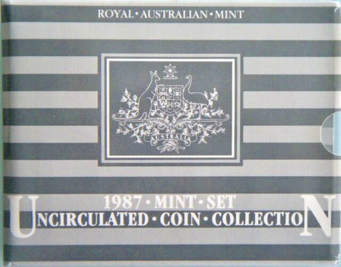 1987 Australia 7 Coin RAM Unc Mint Set
