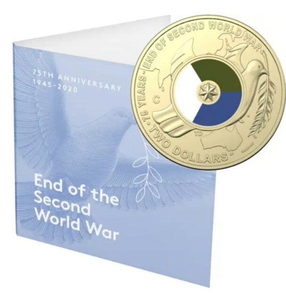 2020 75th Anniversary of the End of WWII $2 'C' Mintmark Uncirculated