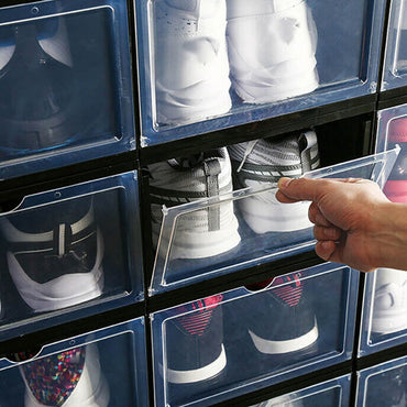 Drop Front Sneaker Display Cases