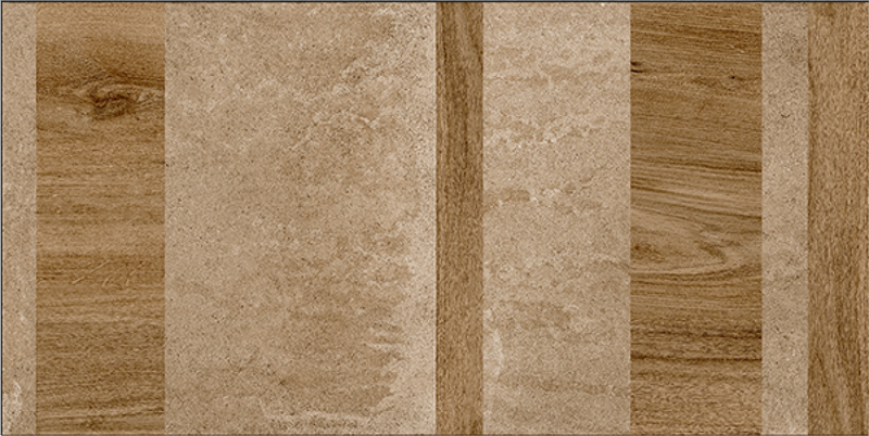 Maze Brown 60x120cm Porcelain Floor Tile (12804)