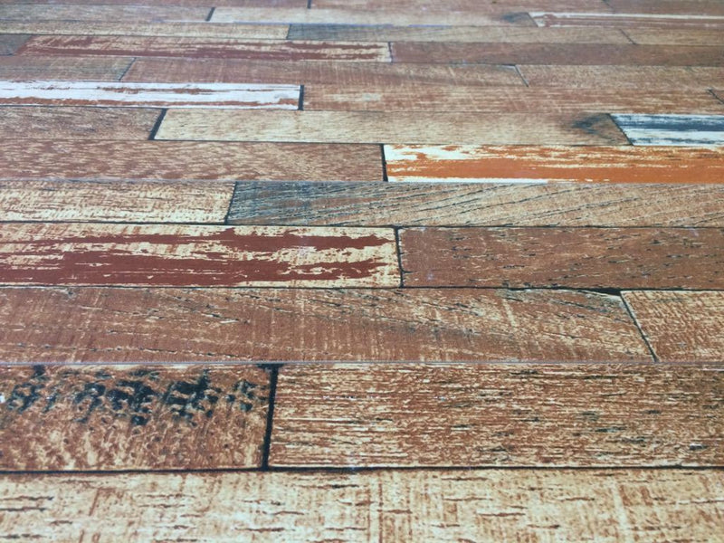Cherry Wood Effect Glazed Wall and Floor Tile