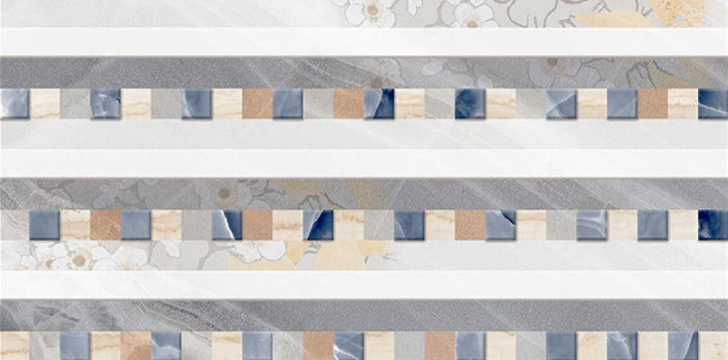 Onici Gris Decor 40x80cm Porcelain Wall Tile (4006)