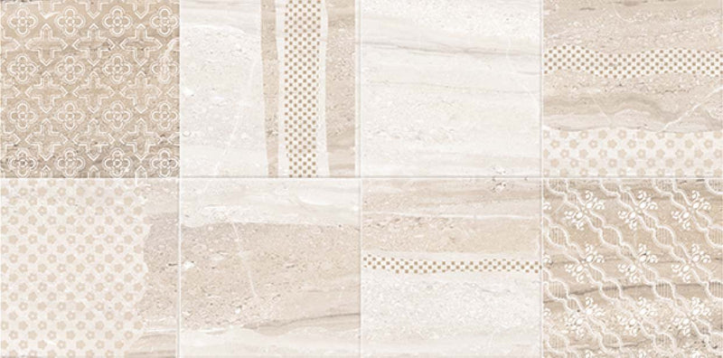 Dyna Pearl Decor 40x80cm Porcelain Wall Tile (4023)