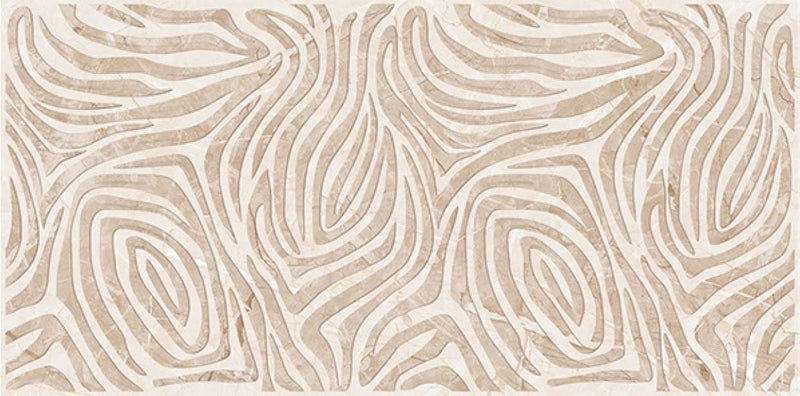Mapisa Beige Decor 40x80cm Porcelain Wall Tile (4026)