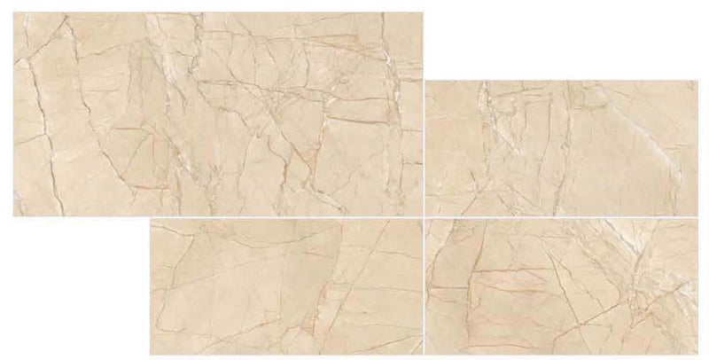 Alibaba Brown 30x60cm Porcelain Wall and Floor Tile (PGVT Series)