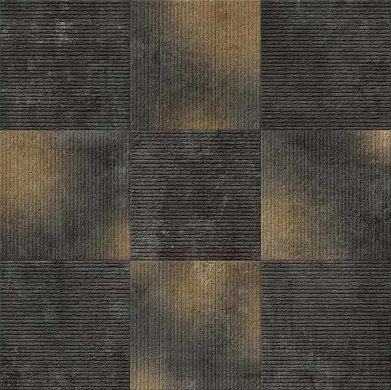 Antico Black 40x40cm Porcelain Floor Tile (Parking Series)
