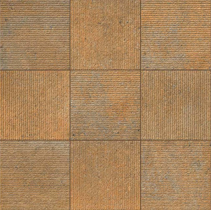 Antico Brown 40x40cm Porcelain Floor Tile (Parking Series)