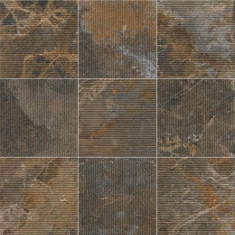 Antico Copper 40x40cm Porcelain Floor Tile (Parking Series)