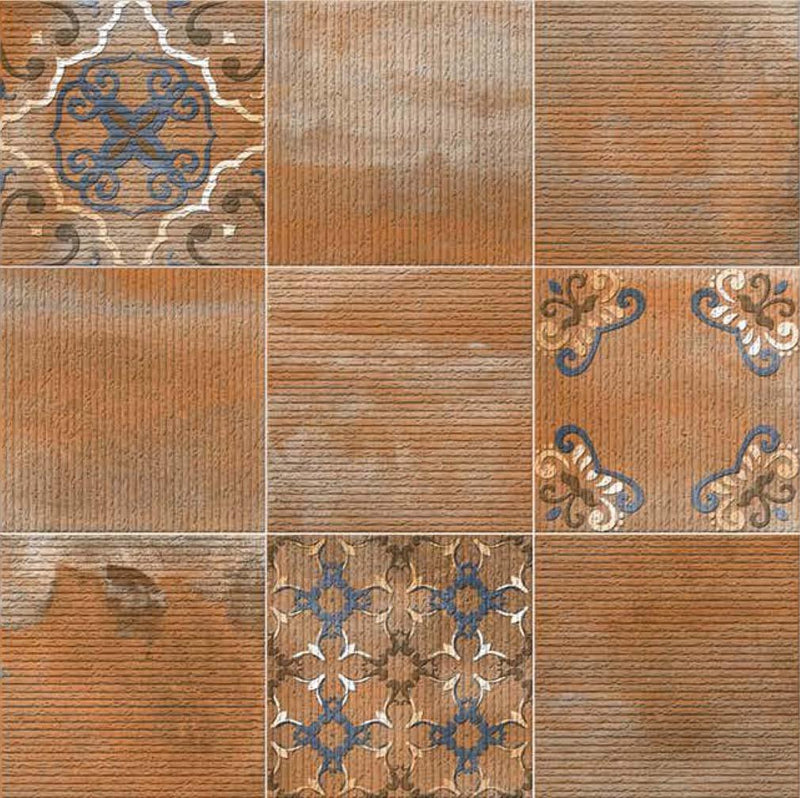 Antico Orange 40x40cm Porcelain Floor Tile (Parking Series)