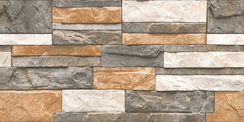 Apricot Dark 30x60cm Porcelain Wall Tile (Elevation Series)