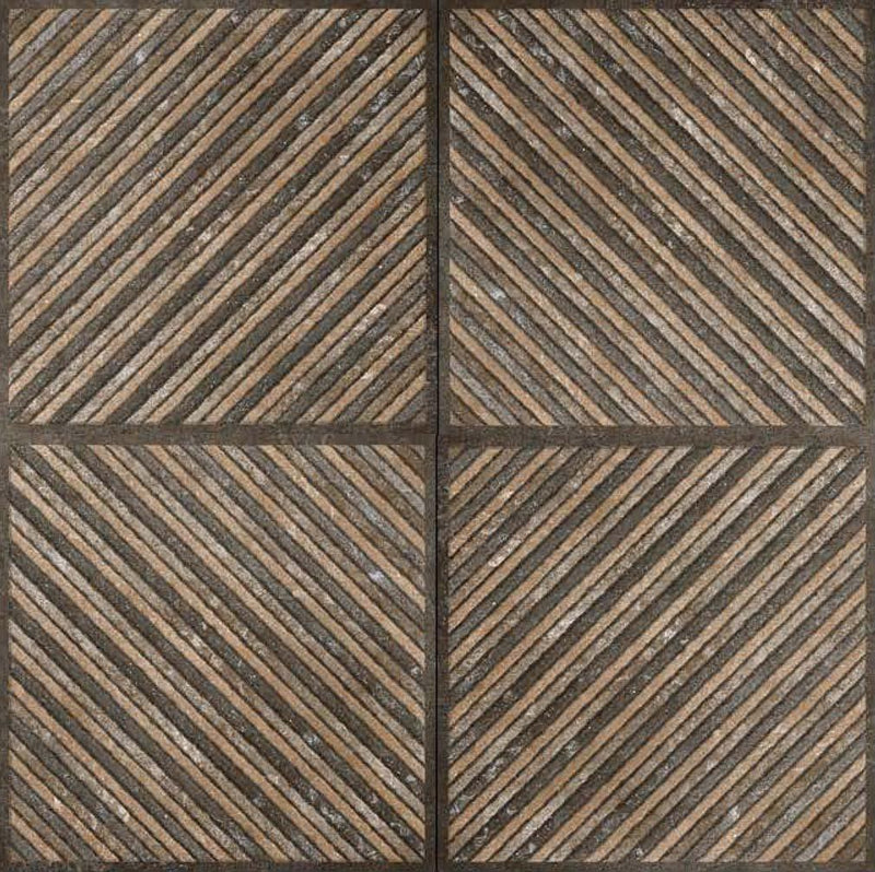 Astrix Choco 40x40cm Porcelain Floor Tile (Parking Series)