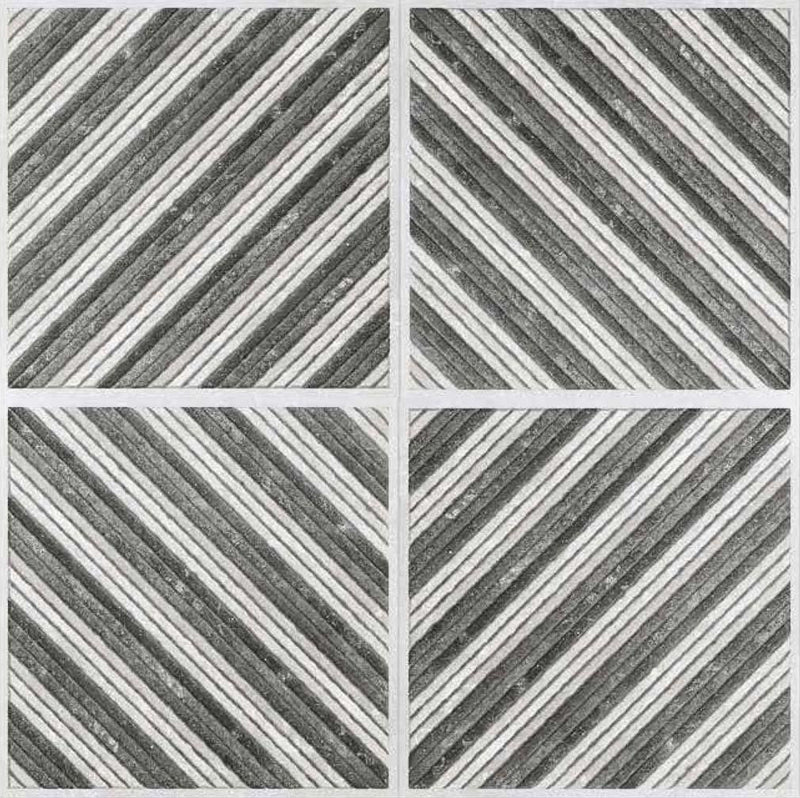 Astrix Grey 40x40cm Porcelain Floor Tile (Parking Series)