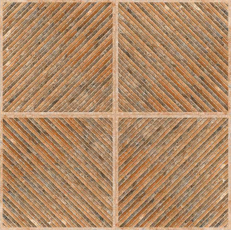 Astrix Orange 40x40cm Porcelain Floor Tile (Parking Series)