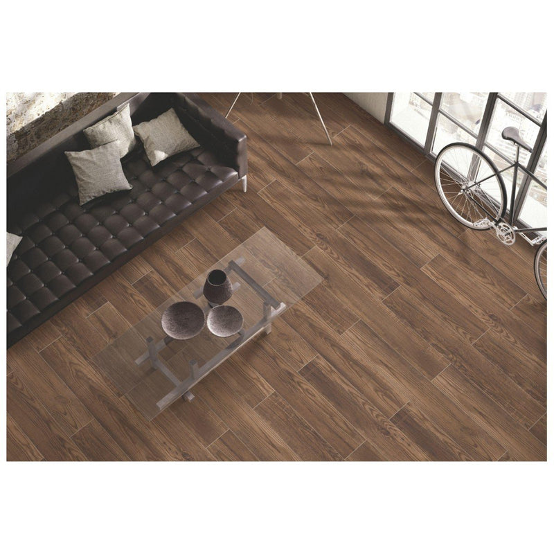 Ascot Cafe 20x120cm Porcelain Wall and Floor Tile (Wood Collection)
