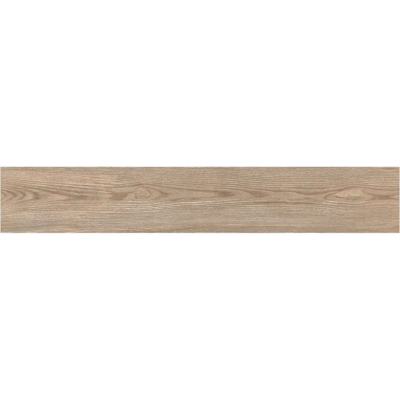 Atena Brown 20x120cm Porcelain Wall and Floor Tile (Wood Collection)