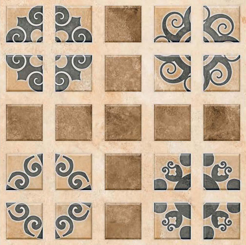 Bellagio Beige 40x40cm Porcelain Floor Tile (Parking Series)