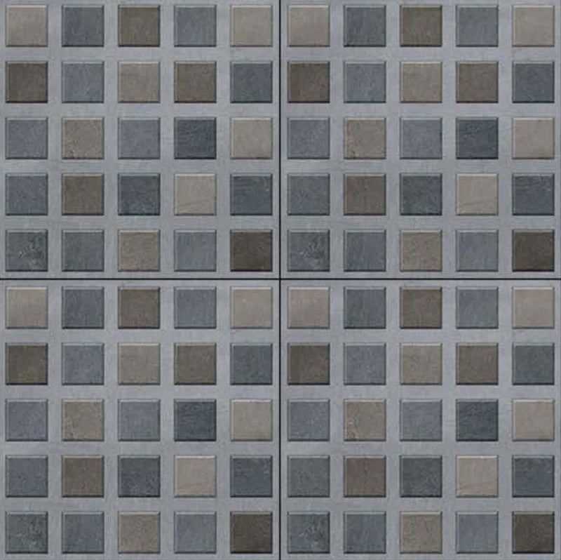 Bellagio Blue 40x40cm Porcelain Floor Tile (Parking Series)