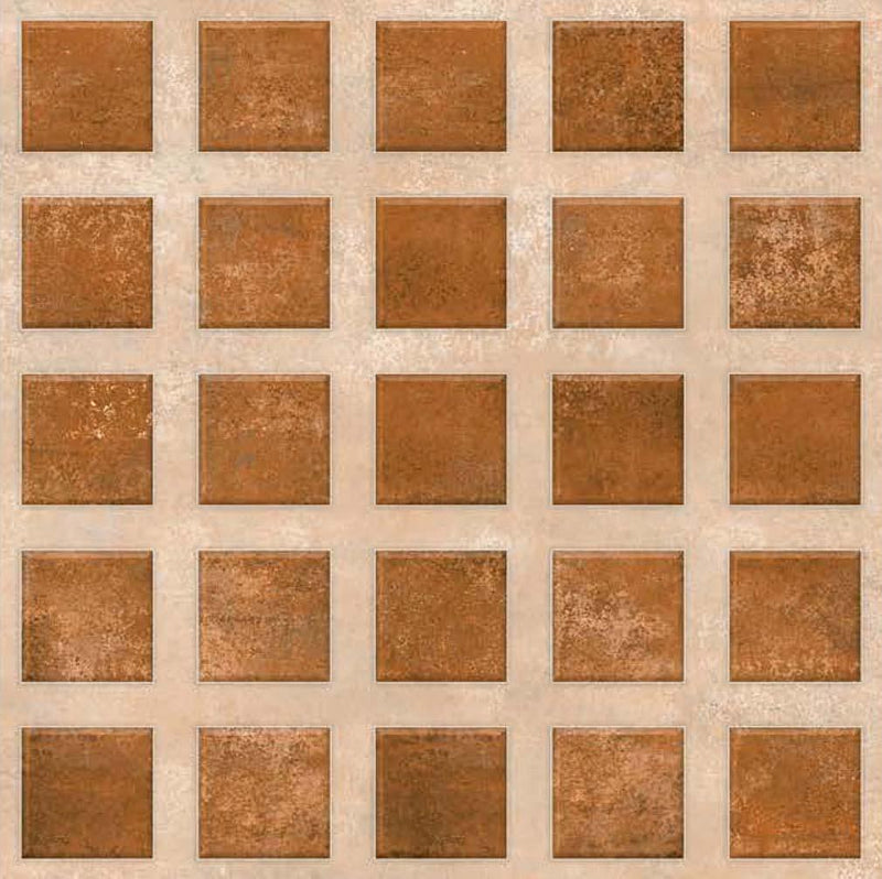 Bellagio Brown 40x40cm Porcelain Floor Tile (Parking Series)