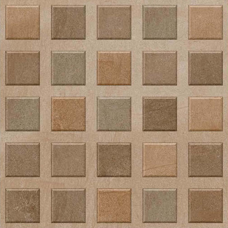 Bellagio Choco 40x40cm Porcelain Floor Tile (Parking Series)