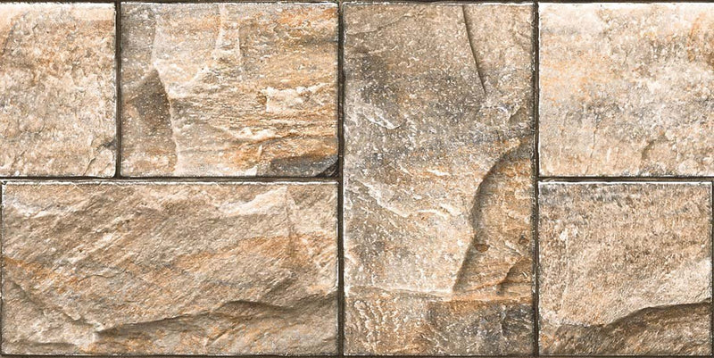 Betica Brown 30x60cm Porcelain Wall Tile (Elevation Series)