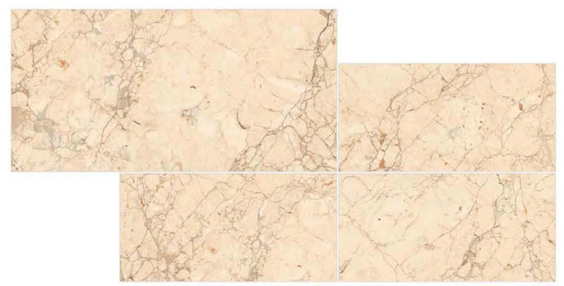Bricka Gold 30x60cm Porcelain Wall and Floor Tile (PGVT Series)