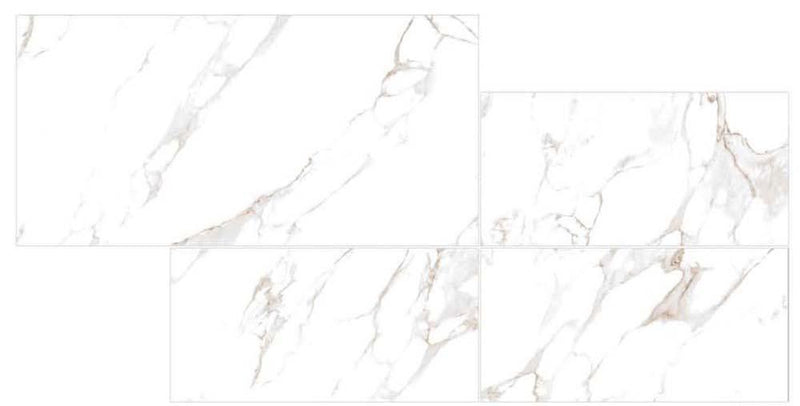 Calcata Black 30x60cm Porcelain Wall and Floor Tile (PGVT Series)