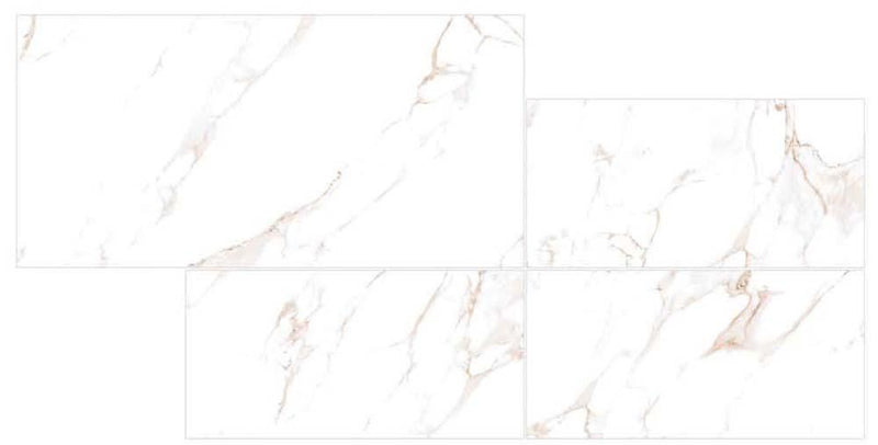 Calcata Orange 30x60cm Porcelain Wall and Floor Tile (PGVT Series)