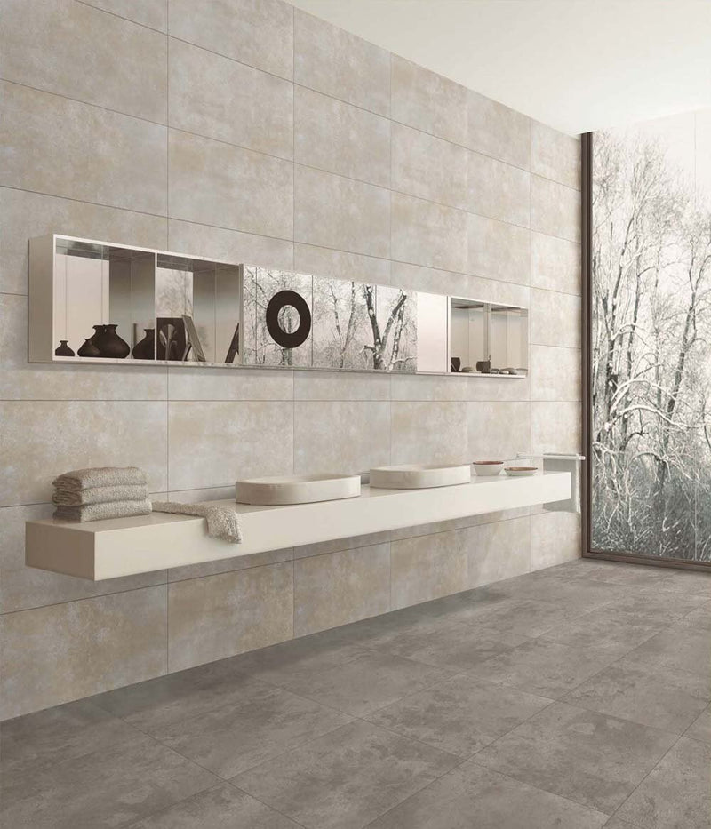 Caustic Iron 30x60cm Porcelain Wall and Floor Tile (GVT Series)