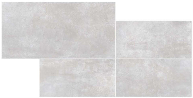 Caustic White 30x60cm Porcelain Wall and Floor Tile (GVT Series)