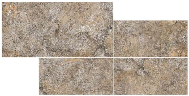 Desert Dark 30x60cm Porcelain Wall and Floor Tile (GVT Series)