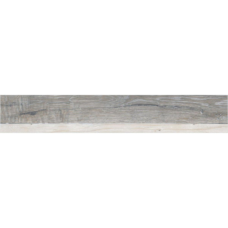 Florest White 20x120cm Porcelain Wall and Floor Tile (Wood Collection)