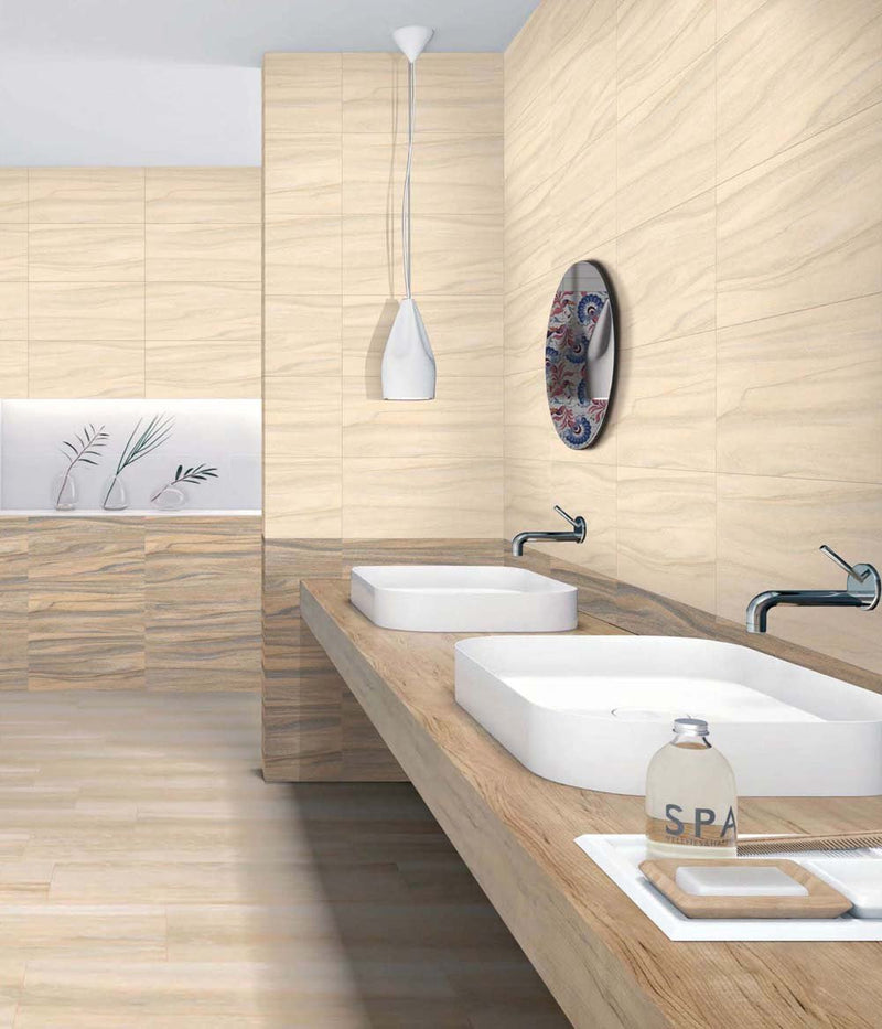 Glam Ivory 30x60cm Porcelain Wall and Floor Tile (GVT Series)