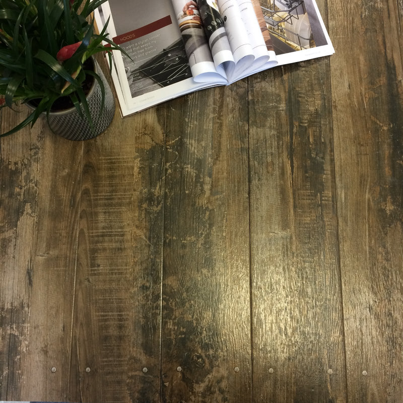 Jacobean Wood Effect Glazed Wall and Floor Tile