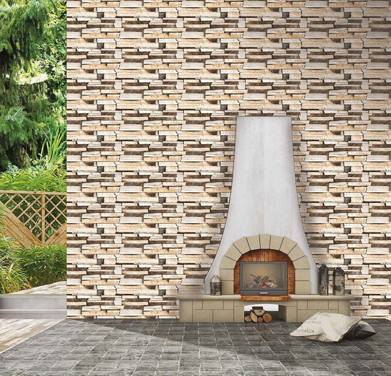 Iceland Brown 30x60cm Porcelain Wall Tile (Elevation Series)