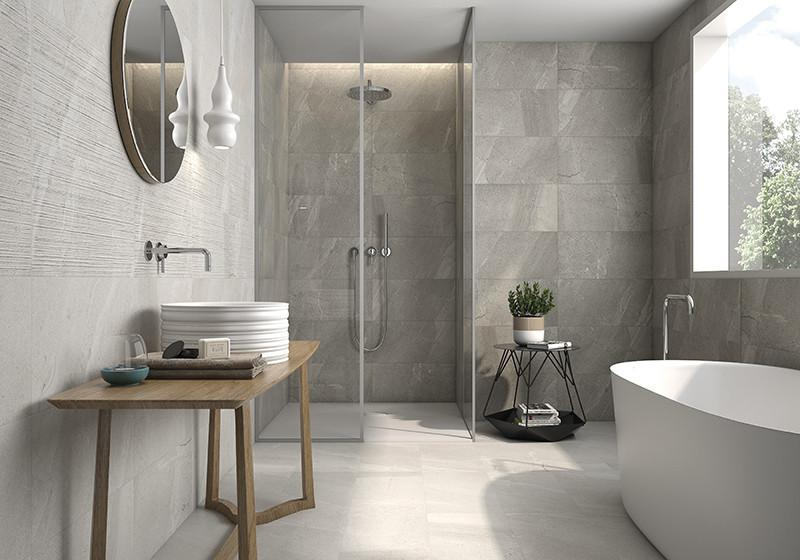 ITT Porcelain Treviso Grey Wall and Floor Tile