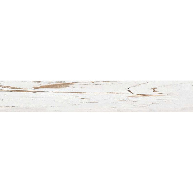 Miami Bianco 20x120cm Porcelain Wall and Floor Tile (Wood Collection)