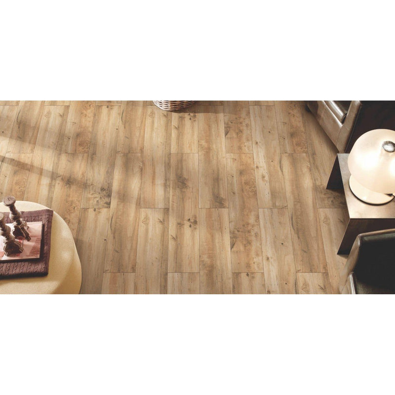 Oak Wood Beige 20x120cm Porcelain Wall and Floor Tile (Wood Collection)