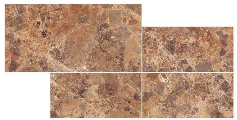 Palazo Orange 30x60cm Porcelain Wall and Floor Tile (PGVT Series)