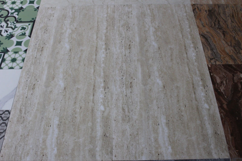 Italian Design Travertine Effect Porcelain Wall and Floor Tile