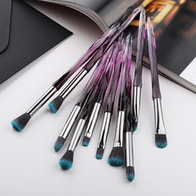 Load image into Gallery viewer, Eye Brush Mini Diamond Makeup Brush Set