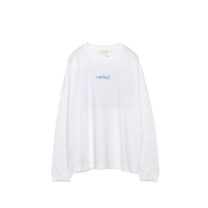 Context with Joe Cruz: Long sleeve Tee (WHITE)