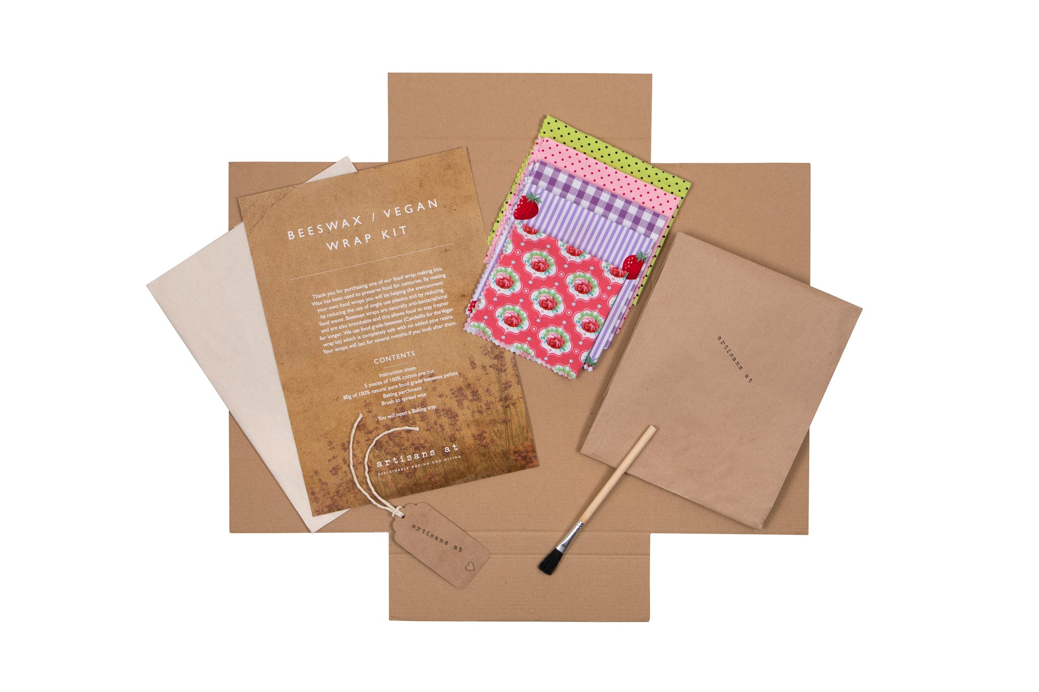 Vegan 'Beeswax' Wrap Making Set