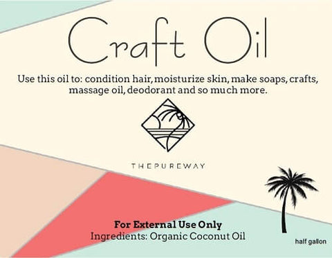 Craft Oil (64oz) | External Use