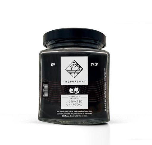 Coconut Super Fine | Activated Charcoal